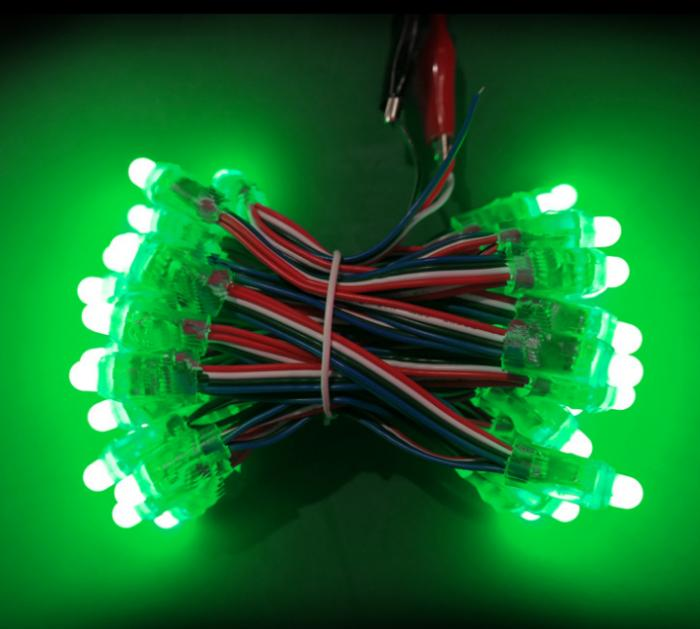 RGB 12mm led pixel light IP67 DC5V